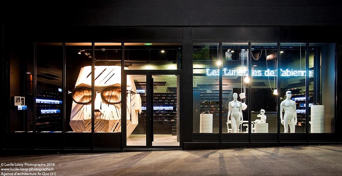 5def96b6ff La boutique Les Lunettes de Fabienne vous accueille dans une ambiance  design et intimiste